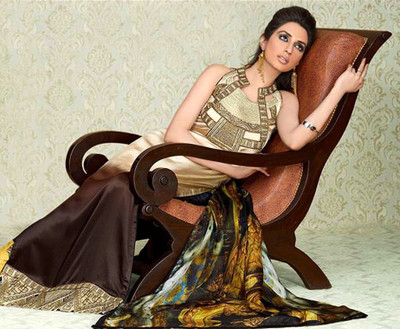 Original Discounted Ladies Suits Asim Jofa Silk