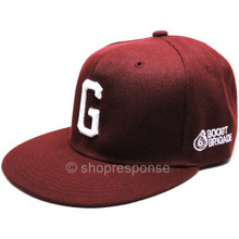 GReddy G Boost Brigade Snap-Back Cap (Burgundy with White Logo)