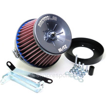 BLITZ 59017 SUS Power LM Air Cleaner: Nissan 300ZX / Fairlady Z Z32 (Red)
