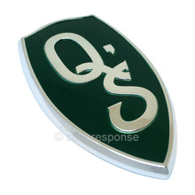 JDM Nissan 95-98 240SX Silvia S14 Q's Emblem -Green (78896-67F60)