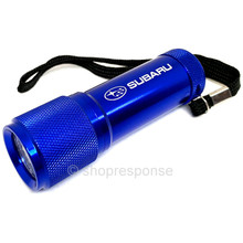 Subaru Aluminum LED Flashlight - Blue / White