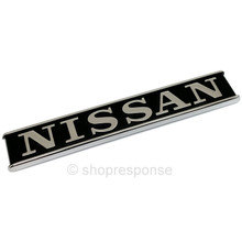 "OEM Nissan 78-83 Datsun 280ZX / Fairlady Z S130 Rear ""Nissan"" Emblem (84814-H7401)"