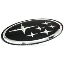 "OEM Subaru Impreza Black Star Cluster Front Grill Emblem - 4"" x 2"" (93011FE020)"