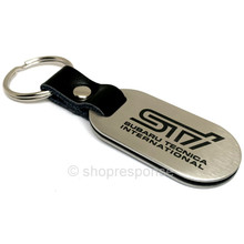 OEM Subaru STi Stainless Steel Key Chain (SOA342L159)