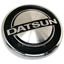 "OEM Nissan 70-74 Datsun 240Z ""DATSUN"" Front Hood Emblem (65810-E4601)"