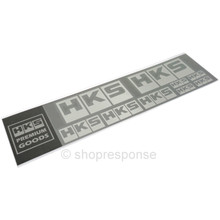 HKS 51007-AK231 Metal Logo Sticker Sheet