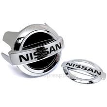 "OEM / JDM Nissan 08-13 Infiniti G37 Skyline V36 ""Nissan"" Emblems - 2DR Coupe (62890-JL01A / 84890-JL00A)"