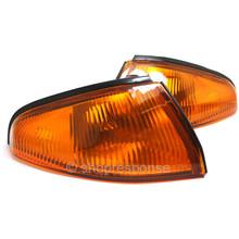 OEM / JDM Nissan 89-94 Nissan Skyline GT-R R32 Front Amber Turn Signal Lenses (26124-05U00 / 26129-05U00)