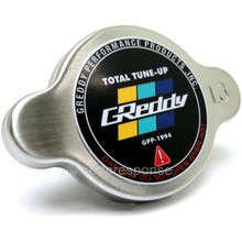 GReddy 13911006 Type S High Pressure Radiator Cap - Brushed