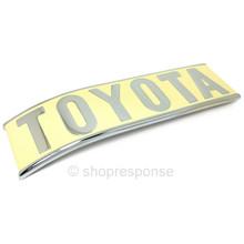 "OEM Toyota 69-76 Land Cruiser FJ40 ""Toyota"" Emblem - Left Side (75450-60021)"