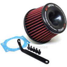 A'PEXi 507-N006 Power Intake Dual Funnel Air Cleaner: 93-01 Nissan Skyline ECR33 / ER34 RB25DET