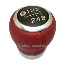 OEM / JDM Toyota 13-16 Scion FR-S / 86 / GT86 Red Leather Shift Knob (SU003-08086)