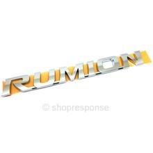 """OEM / JDM Toyota 08-15 Scion xB Rear """"Rumion"""" Emblem (75442-12A40)"""