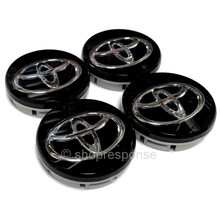 "OEM / JDM Toyota 13-16 Scion FRS 86 GT86 ""T"" Wheel Center Caps - Set of 4 (SU003-00797)"