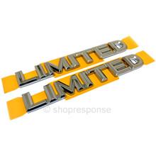 "OEM / JDM Toyota 92-00 Lexus Soarer ""Limited"" Side Emblems - Pair (75351-24050)"