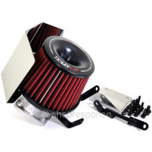 APEXi 507-M005 Power Intake Dual Funnel Air Cleaner: 01-07 Mitsubishi Lancer Evolution 7 / 8 / 9
