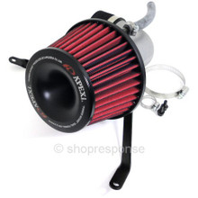APEXi 508-H012 Power Intake Dual Funnel Air Cleaner: 07-08 Honda Fit