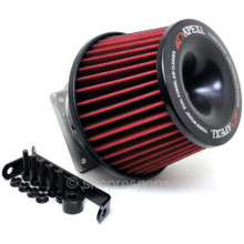 APEXi 507-N005 Power Intake Dual Funnel Air Cleaner: Nissan 240SX / Silvia S14 & S15 (SR20DET)