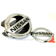 "JDM Nissan 03-07 Infiniti G35 Skyline V35 2DR Coupe ""Nissan"" Emblems"""