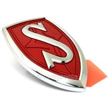 OEM / JDM Nissan 95-98 240SX Silvia S14 S Emblem - Red (65892-80F05)