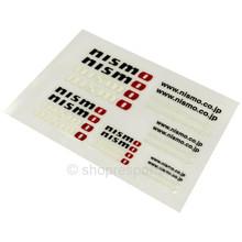 Nismo Mini Decal Sheet