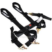 Buddy Club BC08-RSSH4-B Racing Spec 4 Point Seat Belt Harness (Black)