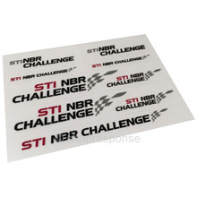 Subaru STi NBR Challlenge Mini Decal Sheet (STSG14100210)