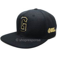 GReddy G Boost Brigade Snap-Back Cap (Black with Gold Logo)