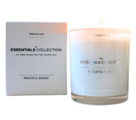 Peaceful Blend Essentials oils candle by Frieda and Gus