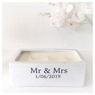 Personalised Boat Candle by Frieda & Gus