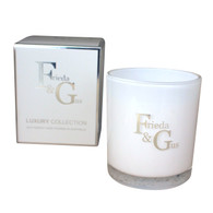 Xlarge Luxury Candle Silver highlights (Select your scent)