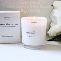 Essential Oils UPLIFTING  Blend XLarge Soy Candle
