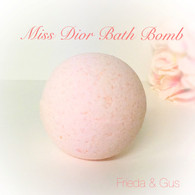 Frieda & Gus Miss Dior scented BATH BOMB