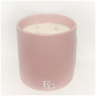 Satin Ceramic XLarge Pale Pink (Select your scent)