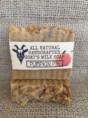 All Natural Handcrafted Pumpkin Pie Soap