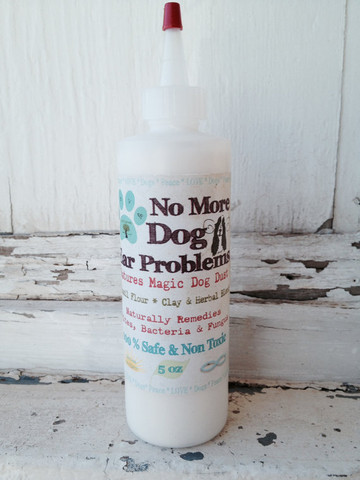 No More Dog Ear Problems Powder