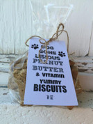 Yummy Peanut Butter Dog Biscuits