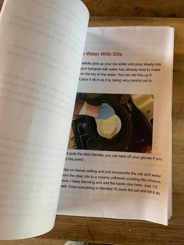 Soap making downloadable PDF