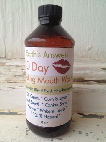 30 Day Healing Natural Mouth Wash