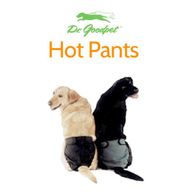 The stain-control garment For dogs in heat and animals with bladder problems Machine washable and re-usable Available in all sizes Made in the U.S.A.