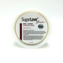 Rose + Oxygen Organic Sugar Body Scrub | Sugar Scrub