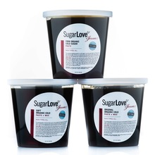 SugarLove Organic Cold Sugaring Paste. Professional Body Sugaring. Sugaring Training