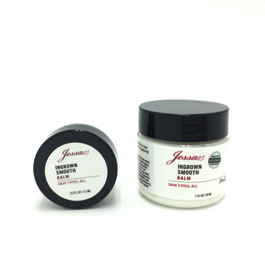 Ingrown Balm for Ingrown Hair.  After waxing cream.