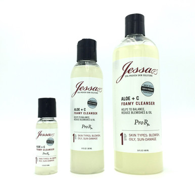 Normal Skin Cleanser. Oily facial cleanser. Acne face cleanser.
