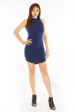 Ribbed Leisure Dress