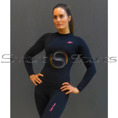 Take 5 Ladies Compression Pants Plain Black | Spandex Long Tights