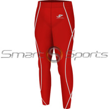 Kids Compression Pants Base Layer Tights Red Take 5