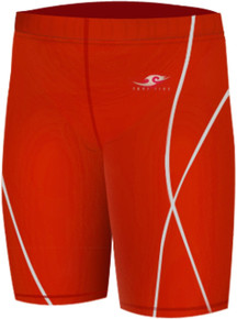 Kids Compression Shorts Base Layer Tights Red Take 5