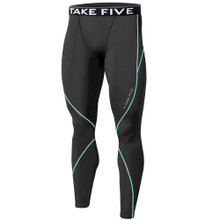 New Mens Compression Thermal Pants Base Layer Tights Grey Take 5