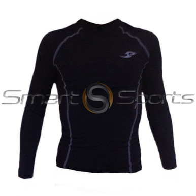 Take 5  ThermalKids Long Sleeve Compression Top Black